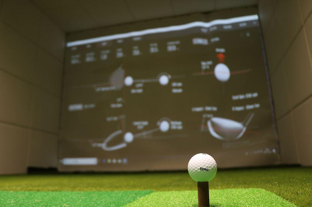 スクリーンとゴルフボール